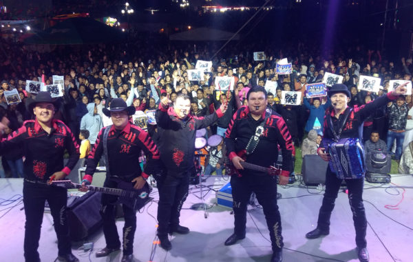 Grupo Mandingo en vivo