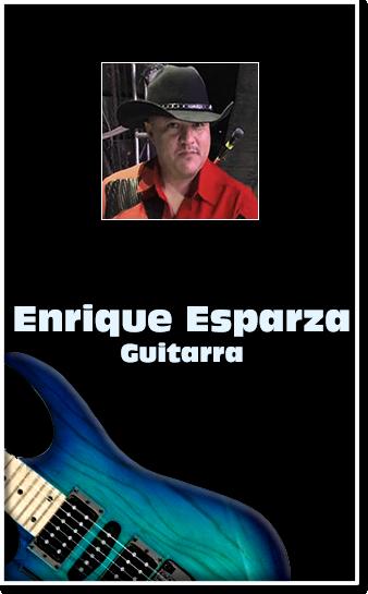grupo Mandingo Enrique Esparza guitarra electrica